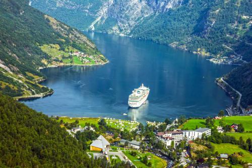 Cruisschip Noorwegen