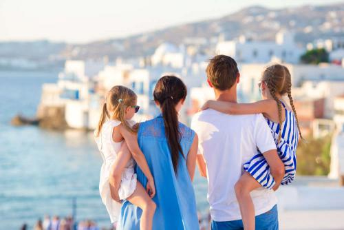 Gezin in Griekenland
